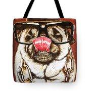 Punk Pug Tote Bag