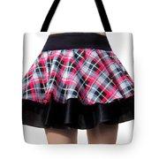 Punk Style Mini Skirt - Ameynra Fashion Tote Bag