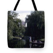 Punters Glide Past Trinity College Tote Bag