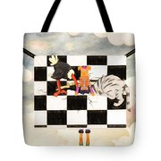Puppet Doggy In Trouble Again Tote Bag
