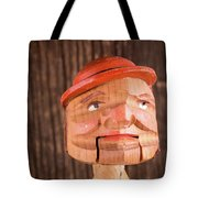 Puppet Head Tote Bag