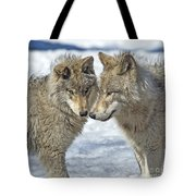 Puppy Love.. Tote Bag