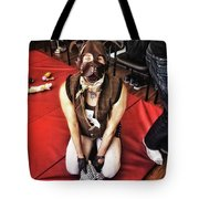 Puppy Play. Human Canine Training Tote Bag