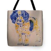 Puppy Stare Tote Bag