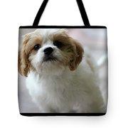Puppy Sunshine Tote Bag