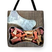 Puppy Treats Tote Bag