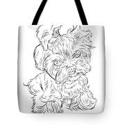 Puppy_printfilecopy Tote Bag