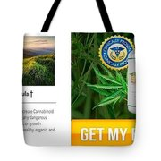 Pure Cbd Solace Tote Bag