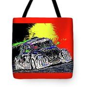 Pure Fun - 25 Hrs. Of Spa-francorchamps Tote Bag