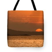 Pure Golden Sunset Tote Bag