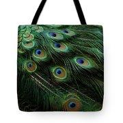 Pure Peacock Tote Bag