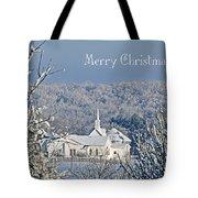 Pure White Christmas Tote Bag