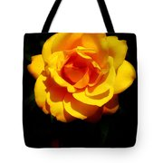 Pure Yellow Petals Tote Bag