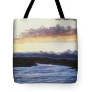 Purpellow Landscape Tote Bag