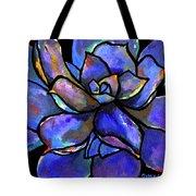 Purple Agave Tote Bag