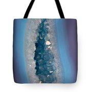 Purple And Blue Agate With Druzy Tote Bag