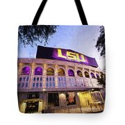 Purple And Gold - Digital Painting Tote Bag
