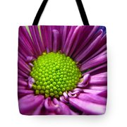 Purple And Green Tote Bag