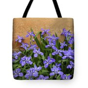 Purple And Orange Tote Bag