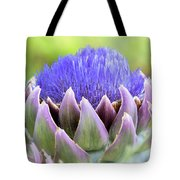 Purple Artichoke Flower  Tote Bag