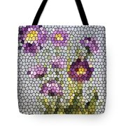 Purple Asters II  Tote Bag
