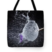 Purple Balloon Pop Tote Bag