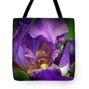 Purple Beauty Tote Bag