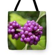 Purple Beautyberries Tote Bag