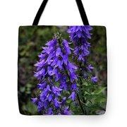 Purple Bell Flowers Tote Bag