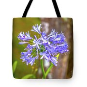 Purple Bells And Blossoms Tote Bag