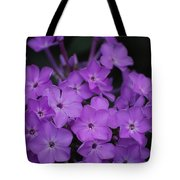 Purple Blossoms Tote Bag