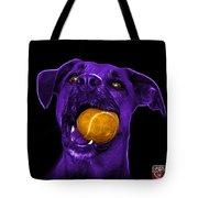 Purple Boxer Mix Dog Art - 8173 - Bb Tote Bag