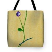 Purple Buds Tote Bag