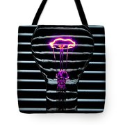 Purple Bulb Tote Bag