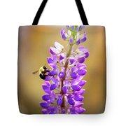 Purple Buzz Tote Bag
