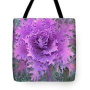 Purple Cabbage Plant Tote Bag