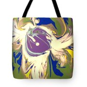 Purple Calla Lilly Tote Bag