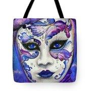 Purple Carnival Tote Bag
