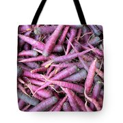 Purple Carrots Number 1 Tote Bag