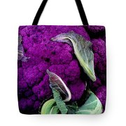 Purple Cauloflower Tote Bag