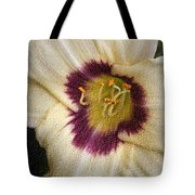 Purple Center Tote Bag