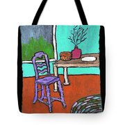 Purple Chair Tote Bag