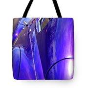Purple Chevrolet Tote Bag
