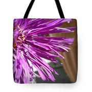 Purple Chinese Aster Tote Bag