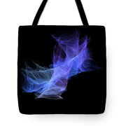 Purple Cloud Tote Bag