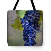Purple Cluster Tote Bag