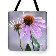 Purple Cornflowers Tote Bag