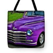 Purple Cruise Tote Bag