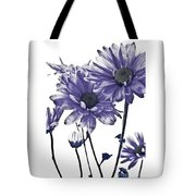 Purple Daisies Tote Bag