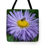 Purple Daisy And Guest Tote Bag